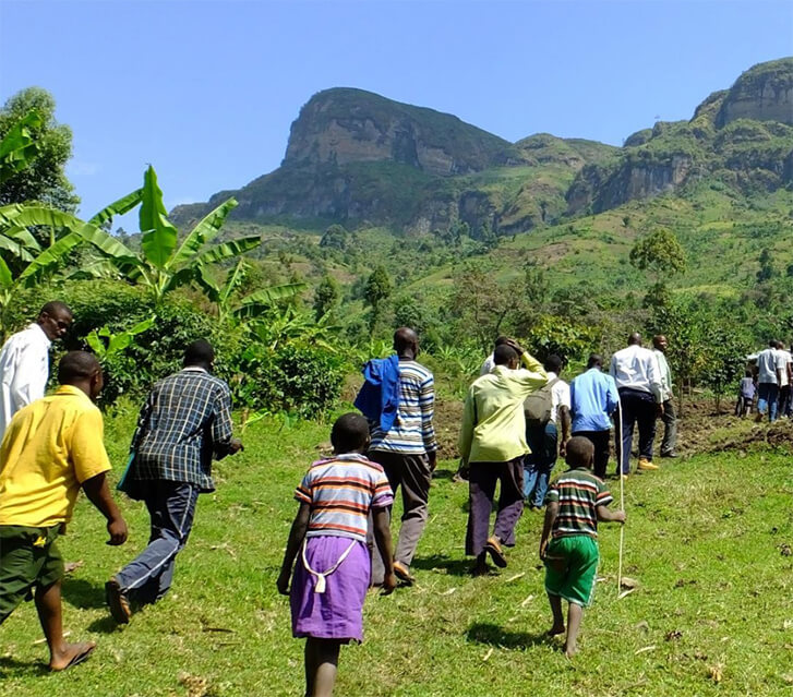 The stunning foothills of Mount Elgon