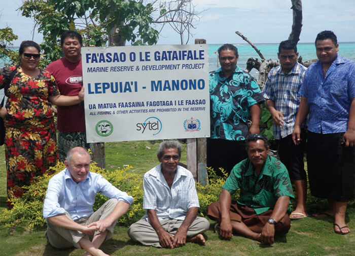 Sytel sponsors fisheries project in Samoa