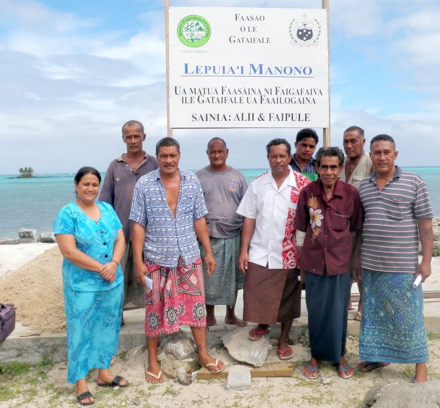 Lepuia'i villagers