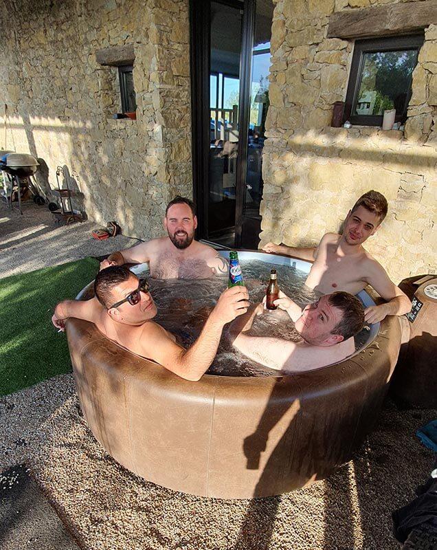 Hot tub antics